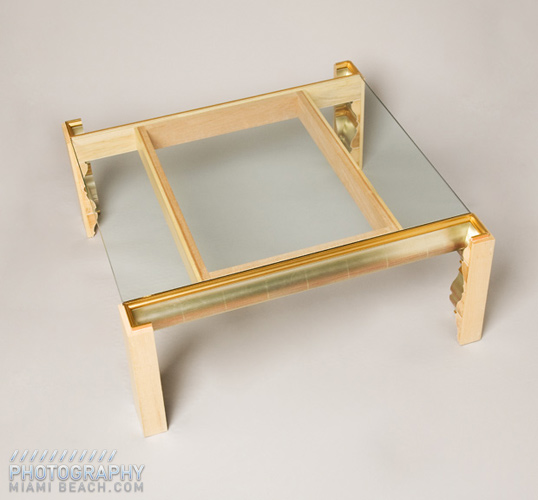 Luis Pons Framed Tables
